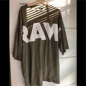 G star Loose Oversized Tee One Size